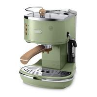 Delonghi ECOV311.GR Icona Vintage Series Espresso and Cappuccino Machine. Expresso maker vacuum cafe espresso machine kitchen