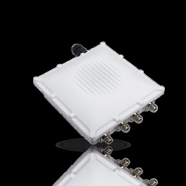 WisGate Puerta de enlace exterior RAK7249, inalámbrica, sistema operativo OpenWRT integrado, 16 canales, LoRa, 4G, WIFI, GPS y batería de repuesto