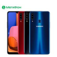 Смартфон Samsung Galaxy A20s 3/32ГБ [Ростест, новый, SIM любых операторов, официальная гарантия]