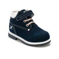 Flo moira 9pr azul marinho masculino criança botas kinetix