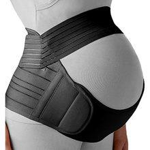 Cinturones de maternidad para mujeres embarazadas, cinturón de maternidad para el cuidado del Abdomen, banda de soporte para el vientre, tirantes para espalda protectora, ropa de maternidad