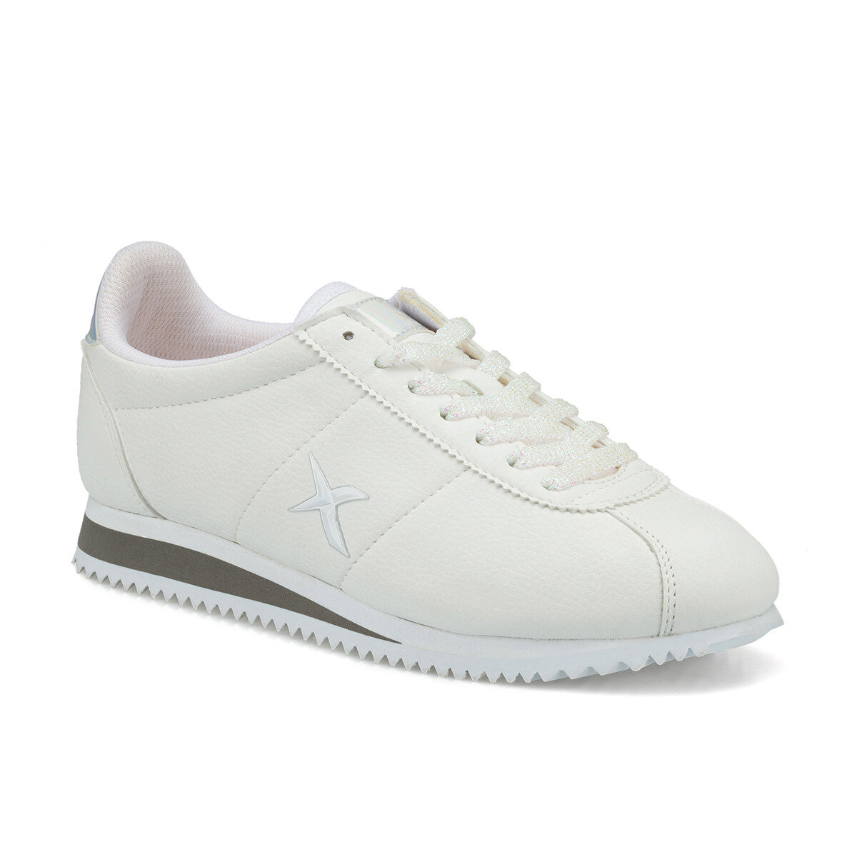 FLO GIGA W White Women 'S Sneaker Shoes KINETIX