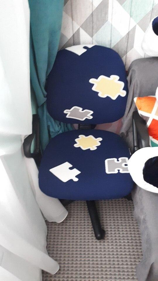 Capa p/ cadeira cadeira computador escritório