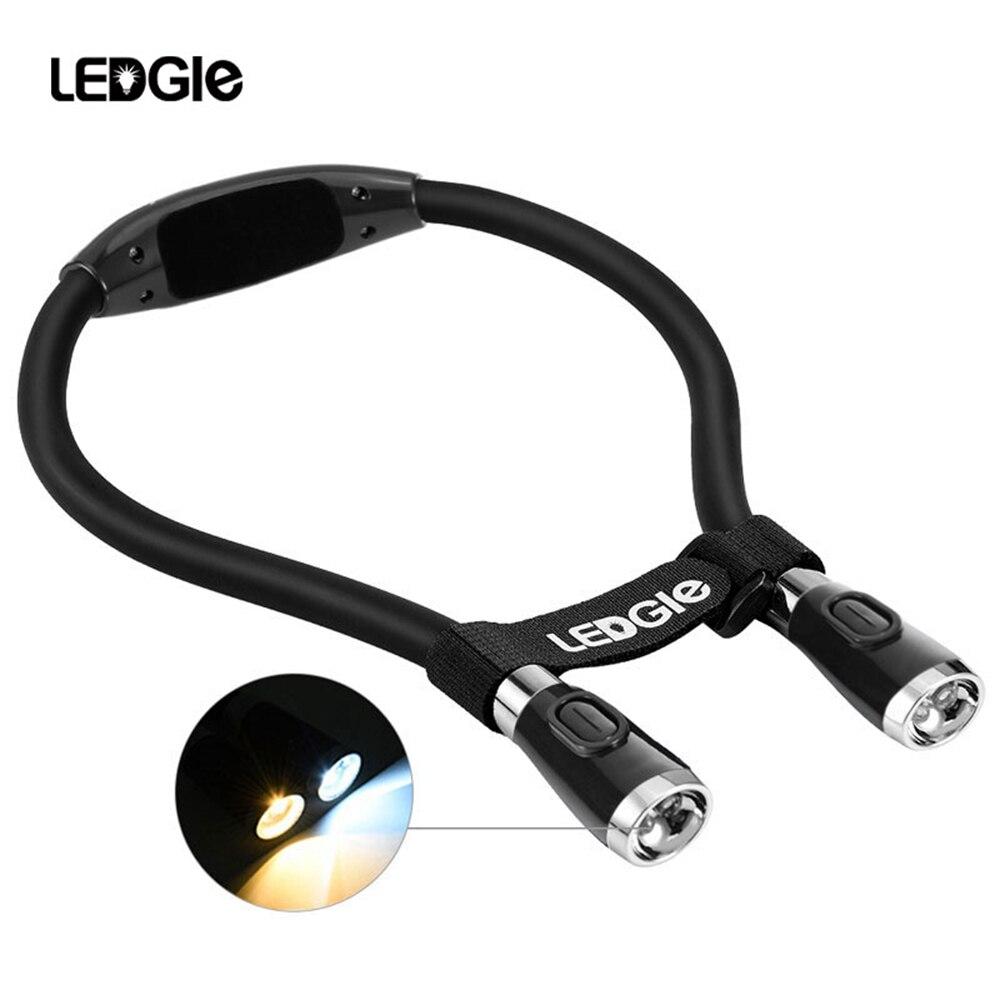 LEDGLE 2020 LED Read Lamp Novelty Light Dropshipping USB Rechargeable Lantern Reading Light Needlework Gift For Kids Women Adult
