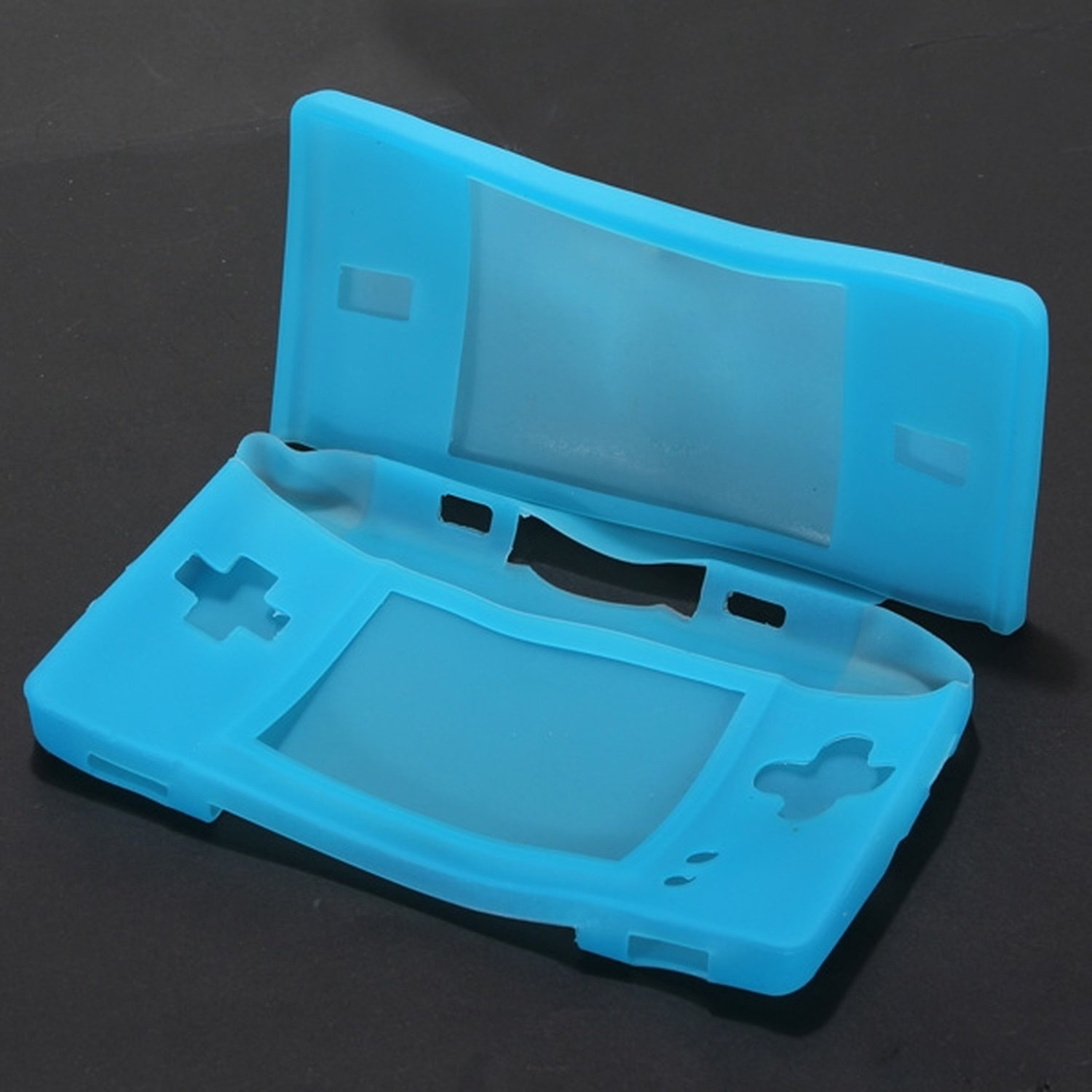 Nintendo DS Protective Skin for DS Lite BLUE nintendo ds lite stylus pen retractable 2 pcs white
