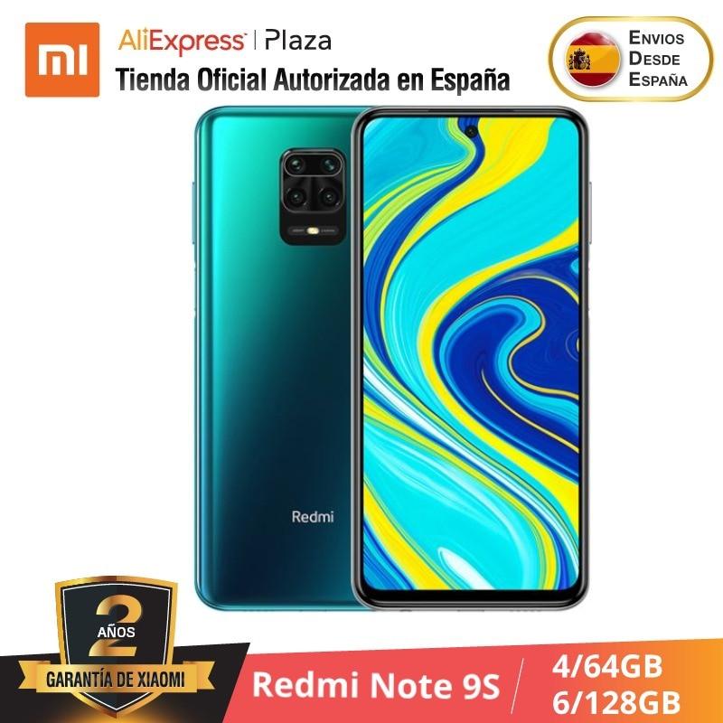 Xiaomi Redmi Note 9S (64GB ROM  4GB RAM, 128GB 6GB, Snapdragon™ 720) [Teléfono Móvil Versión Global Para España] Note9s