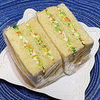 """#美食说出""""新年好""""#鸡蛋沙拉三明治的做法图解12"""