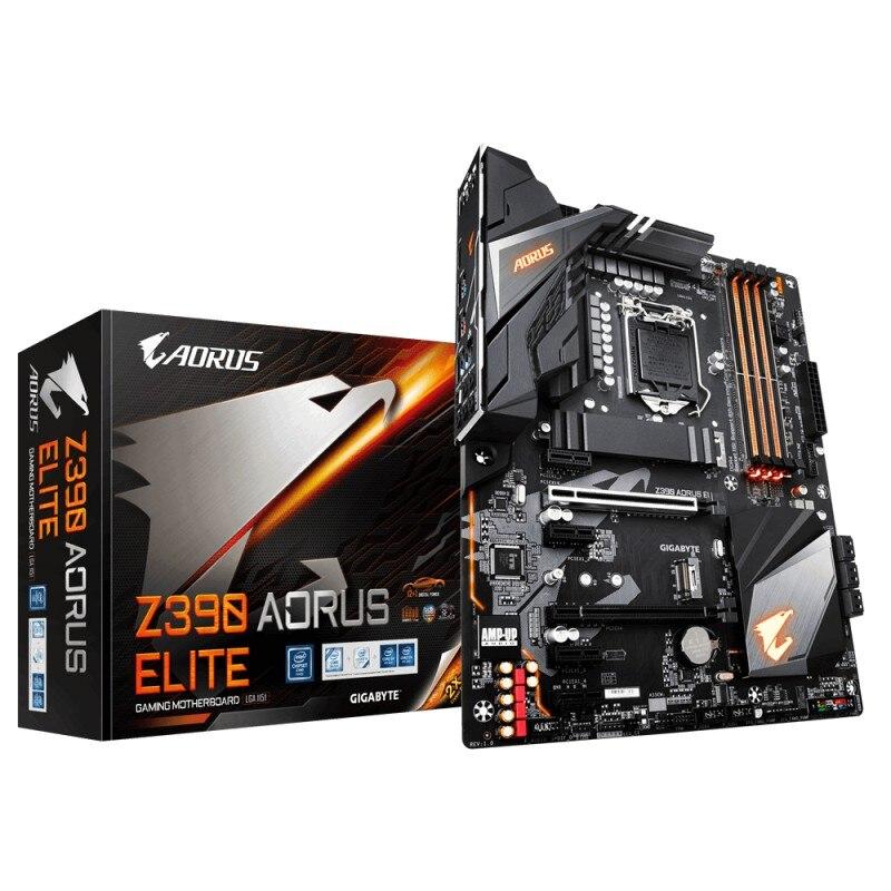 Gigabyte Z390 AORUS ELITE placa base LGA 1151 (Zócalo H4) ATX Intel