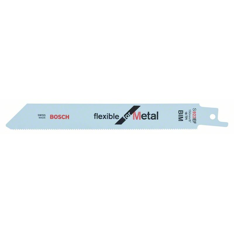 BOSCH-saw Blade Sable S 922 EF Bendable For Metal
