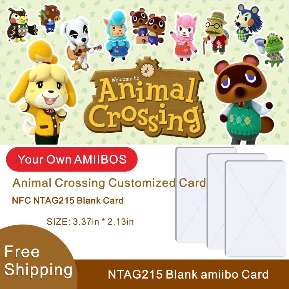 1pcs Ntag215 Card Animal Crossing Card Amiibo Mini Nfc Amiibo Cards Zelda Nfc215 For TagMo Card Work For NS Games