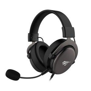 Havit casques casque Gaming jeu Ps4 Pro Switch ordinateur portable PC avec micro détachable et HV-H2015D de contrôle du volume