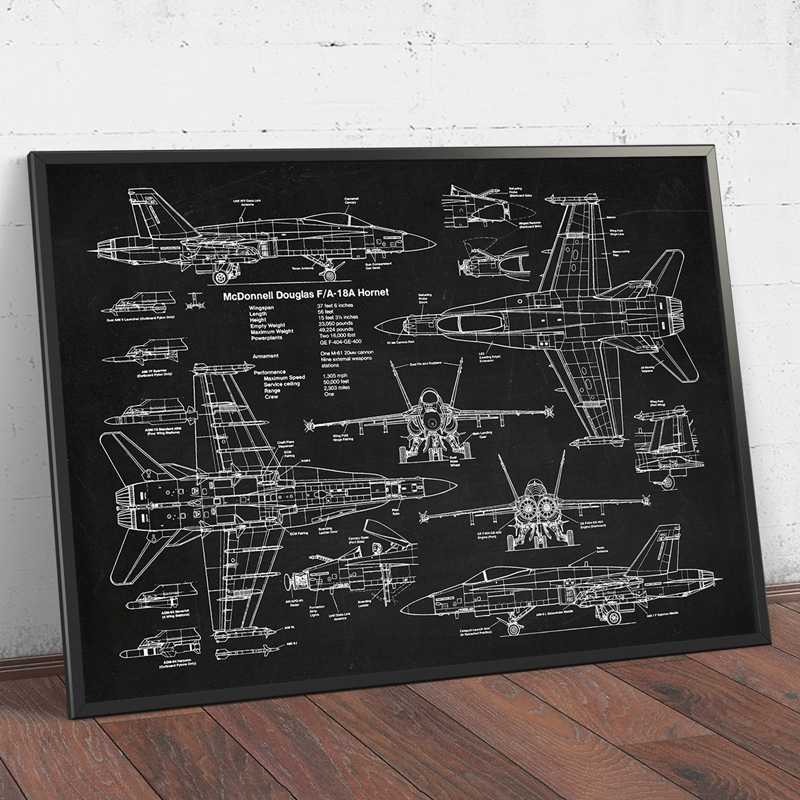Wall Art Soyuz U2 Russian Rocket Patent Gallery Wall Art Canvas Print Aviation Artwork Blueprint Posters Painting Outer Space Retro Decor,A3 30X42 cm No Frame,Ph1322