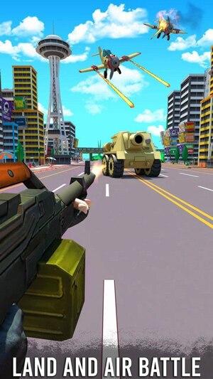 公路射击3D