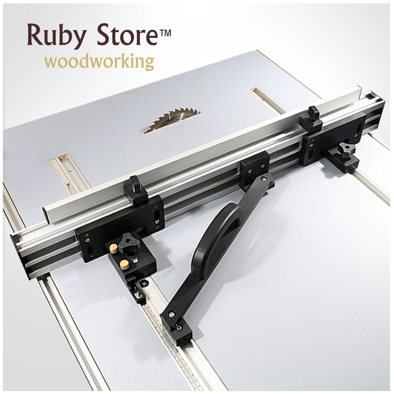 Table Saw Fence System, DIY Table Saw, Woodworking