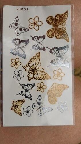 Temporary Metallic Tattoo photo review