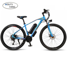 ไฟฟ้าจักรยาน 29 นิ้ว 36V 350W 10.4AH 27 อลูมิเนียมความเร็วสูงอลูมิเนียมไฟฟ้าจักรยานภูเขาจักรยาน EBike Brushless Motor LITHIUM batte