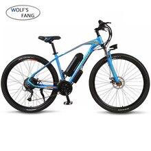 Bici elettrica 29 pollici 36V 350W 10.4AH 27 velocità In lega di Alluminio bicicletta elettrica mountain bike Ebike motore Brushless al litio batte