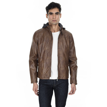Pierre Cardin Faux Leather Jacket MEN 'S LEATHER JACKET PCSE1752