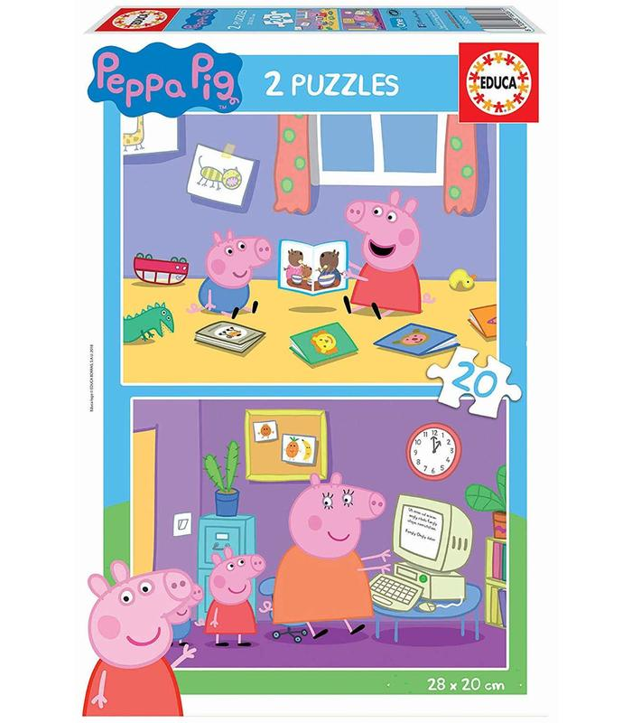 2x20 Peppa Pig Toy Store