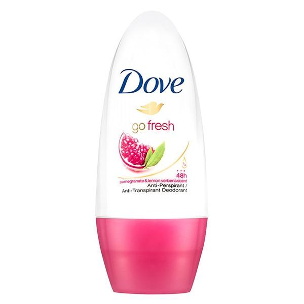 Roll-On Deodorant Go Fresh Dove (50 Ml)