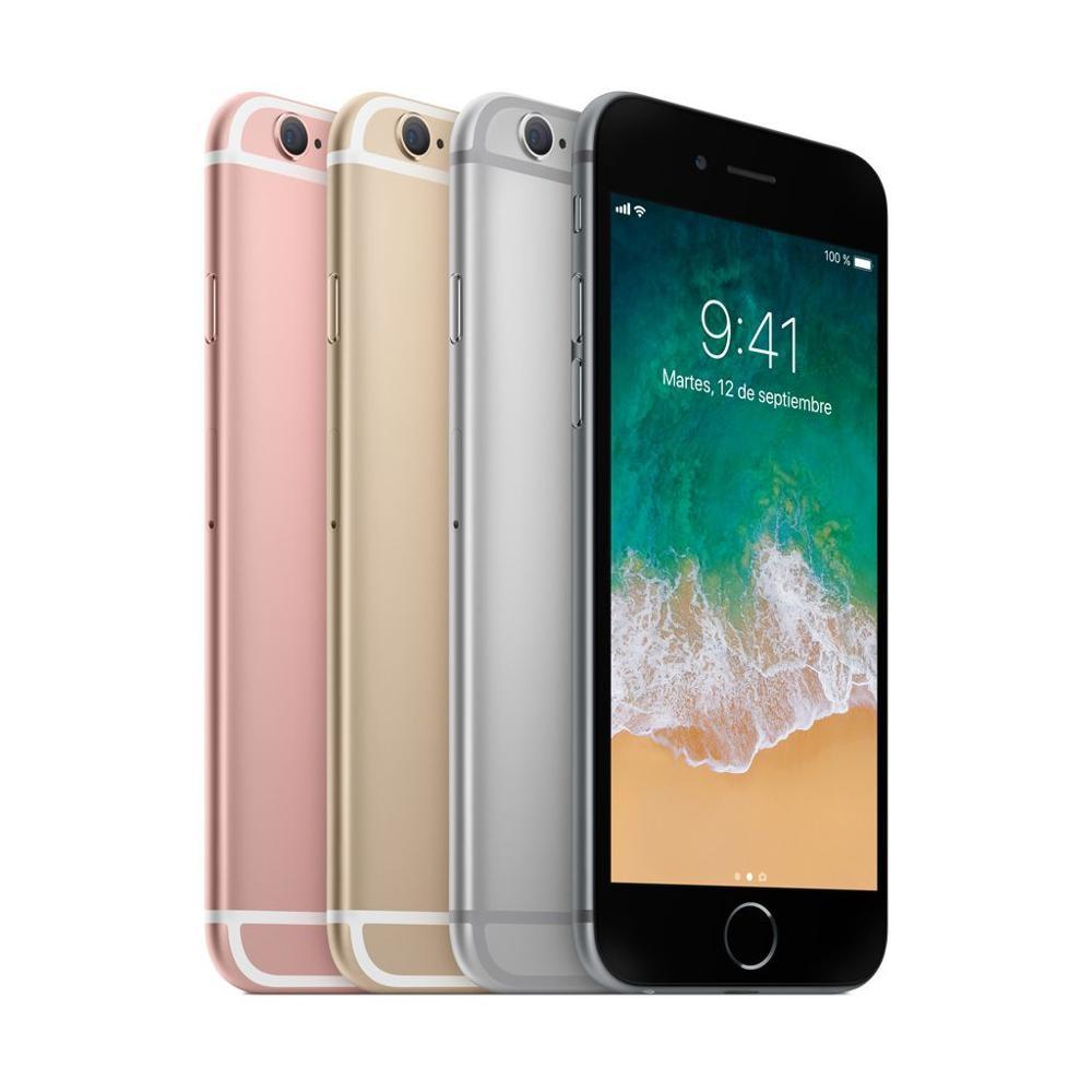 "Apple iphone 6s plus desbloqueado smartphone, núcleo duplo, 64 bits, 5,5 ""ghz, 2gb ram, desbloquear, original 16gb wcdma 4g lte, 1"