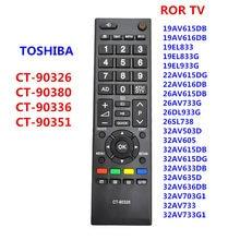 CT-90326 nova substituição de controle remoto para toshiba 3d smart tv ct90326 CT-90380 CT-90386 CT-90336 CT-90351