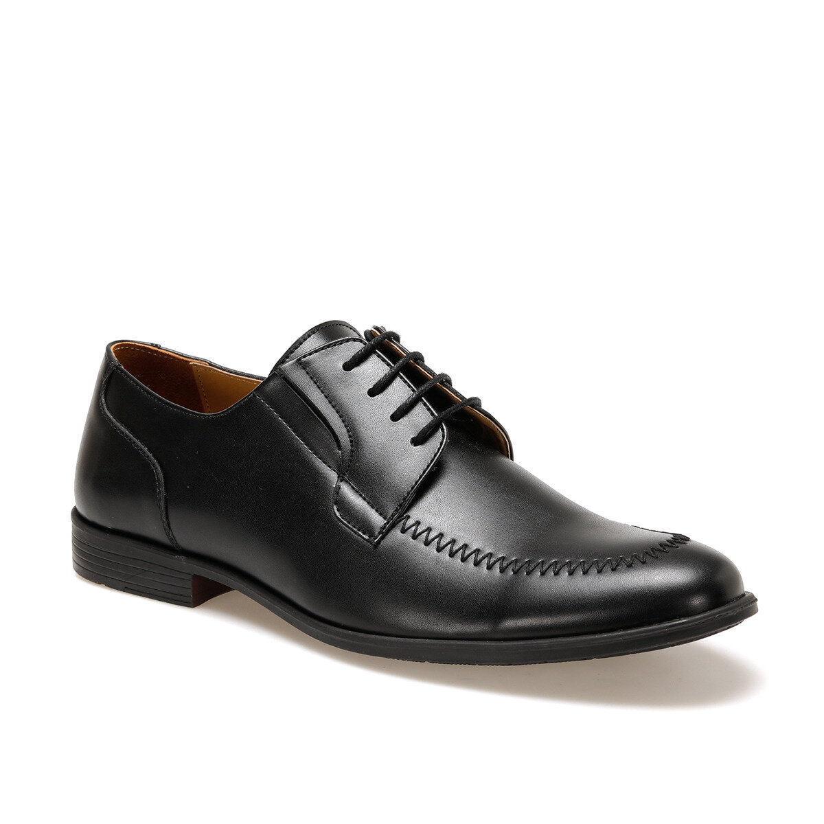 FLO 2263 Black Men Dress Shoes DOWN TOWN