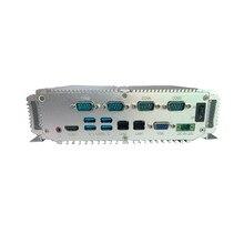 4gb ram 64gb ssd computador industrial intel core i5 7200u fino mini computador industrial x86 com wifi