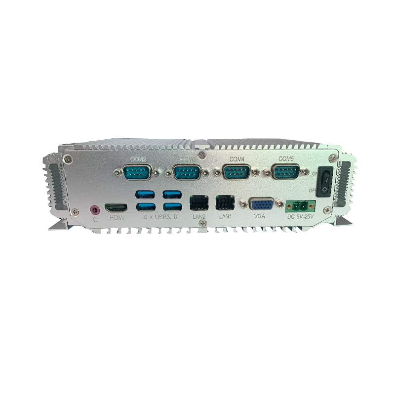 Fanless Mini Pc 7th Gen Core I5 7300U Intel CPU With 4G Ram 64G SSD Industrial Computer