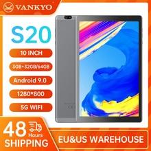 VANKYO S20 10 inch Tablet Android 9.0 Pie 3GB RAM 32GB ROM1280*800 IPS HD Display MatrixPad GPS 5G WiFii GPS Octa-Core MatrixPad