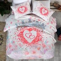 O amor é... Conjunto de cama de produtos privados   impressão digital   primeira qualidade   oversized