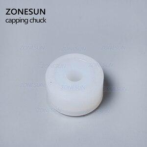 Image 4 - ZONESUN резиновая прокладка с фрикционными колесами, головка патрона для магнитной медицинской машины для укупорки бутылок, косметический парфюмерный сок