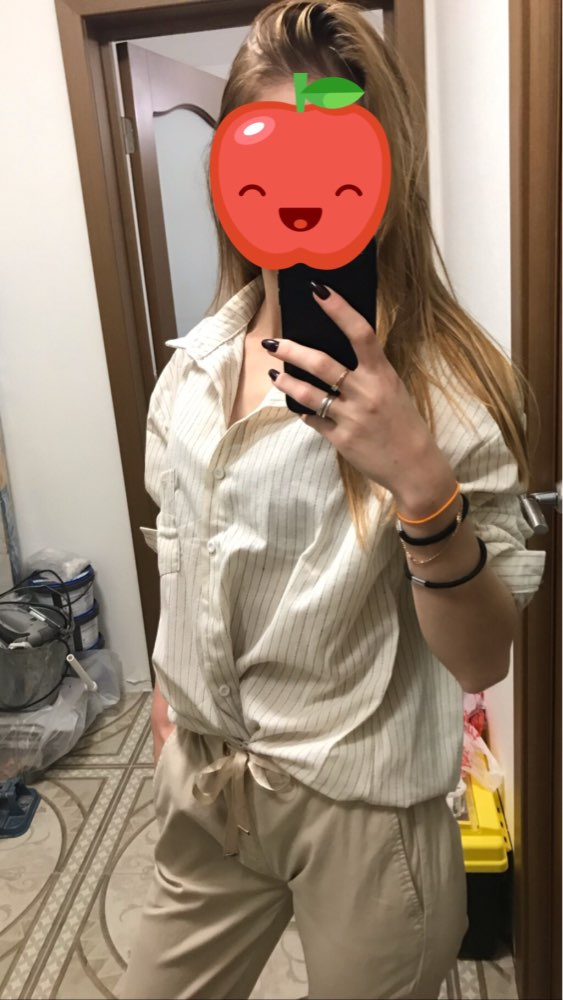 Spring Autumn Female Shirts Women Striped Shirts Office Lady Style Women Shirts Solid Fashion Long Sleeves photo review