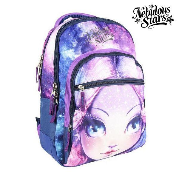 School Bag Nebulous Stars Lilac