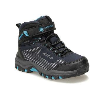 FLO FULLER HI 9PR granatowe męskie dziecięce buty outdoorowe drwal tanie i dobre opinie LUMBERJACK ALLIGATOR Korka Chłopcy