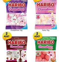 Chammallows-Package Haribo Joy 70 Share Party Happiness Friend Family