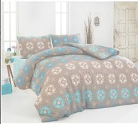 Easy to Be Ironed Duvet cover set Double Personality Amethyst Coffee Ep-004
