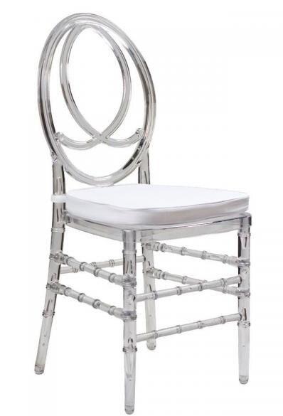 Chair FENIX, Transparent Polycarbonate, Cushion