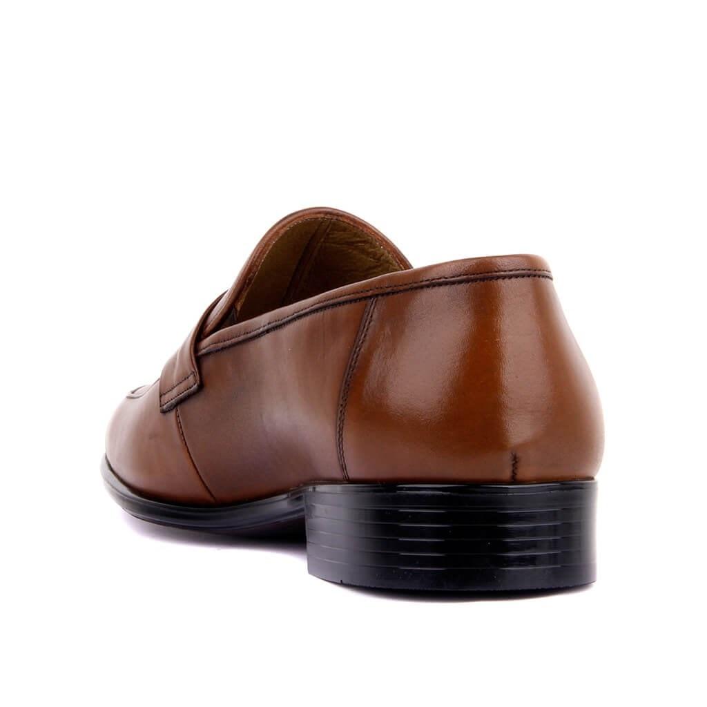 Fozo-tan cuir véritable hommes Chaussures décontractées de luxe hommes mocassins mocassins respirant sans lacet mode affaires robe formelle Chaussures hommes bureau fête mariage Chaussures confortables Chaussures Zapatos Hombre taille 39-46 - 4