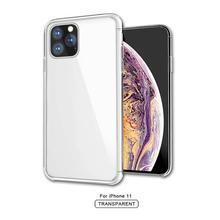 Clear Phone Case For iPhone 11 iPhone 11 Pro Max Crystal Acrylic Hard Back Cover For iPhone 7 8 6 6S Plus XS XR XSMAX 11 Pro MAX new iphone case for iphone 11 for iphone11 pro max 5 8 inches 6 1 inches 6 8 inches 6 6s 7 8 plus ix xr max x fashion back cover
