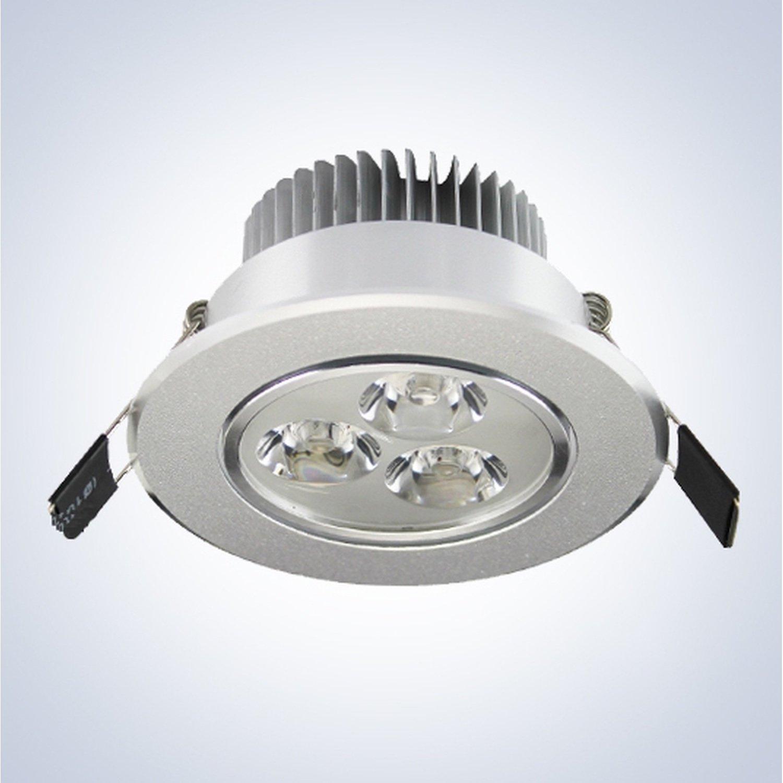 Led Ceiling Lamp 3W 6500K cold white 18w 1700 1800lm 6000 6500k 92 smd 2835 led white light ceiling lamp w magnet silver