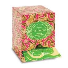 Thé vert menthe poivrée et jasmin-coffret 15 pyramides envahies prêtes à infuser-le Capsoul
