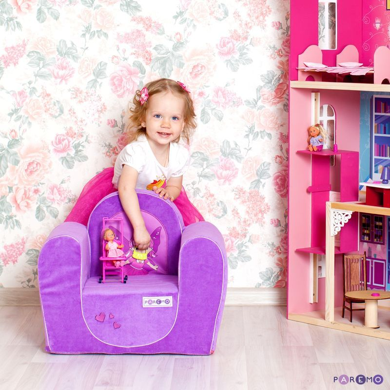 Фото - Game frameless chair Fairy, col. Lilac game time women s col fro ias frost watch iowa state