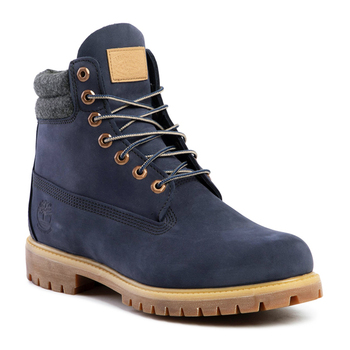 Men's boots Timberland 6 IN DOUBLE COLLAR BOOT Navy blue