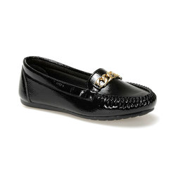 FLO DW19006R Schwarz Frauen Loafer Schuhe Fräulein F