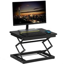 Height Adjustable Standing Desk Laptop Table Stand up Table for Computer Monitor Laptop
