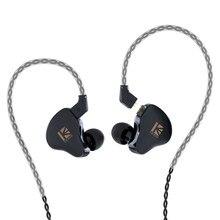 KBEAR KS1 Dual Magnectic Schaltung Einzigen Dynamische Treiber Kopfhörer HIFI Bass In-Ear-Monitor mit 3,5mm 4N Kabel Ohrhörer KB06 KS2
