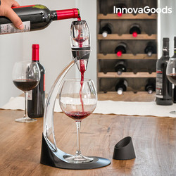 InnovaGoods profesjonalnego karafka do wina|Pokrowce na butelki wina|Dom i ogród -