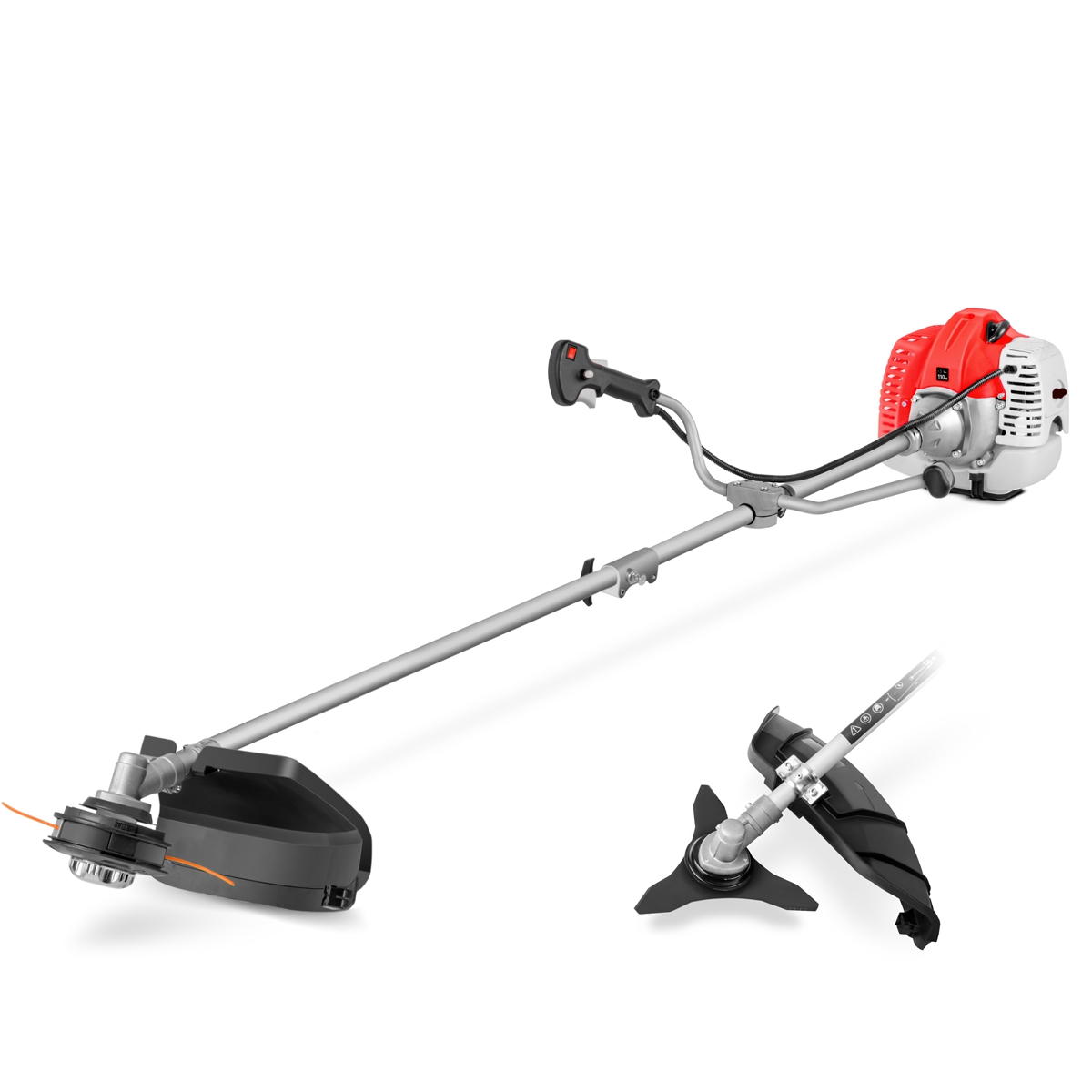 Gasoline Brush Cutter 65cc Powerful Disc 3 Tips And Arnes-GREENCUT