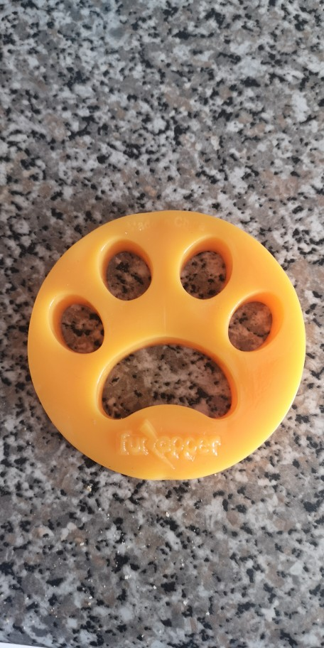 Pet Hair Remover Paw for Laundry photo review